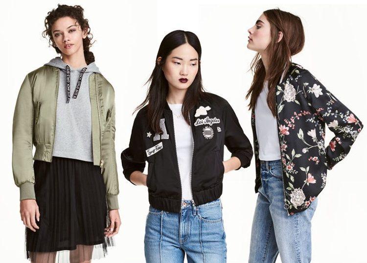 Kurtki wiosenne 2017: H&M
