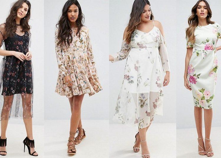 Sukienki w kwiaty [asos.com]