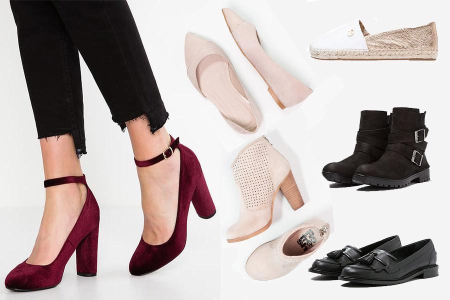Modne buty na wiosnę 2017 (kolaż redakcja, materiały partnera)