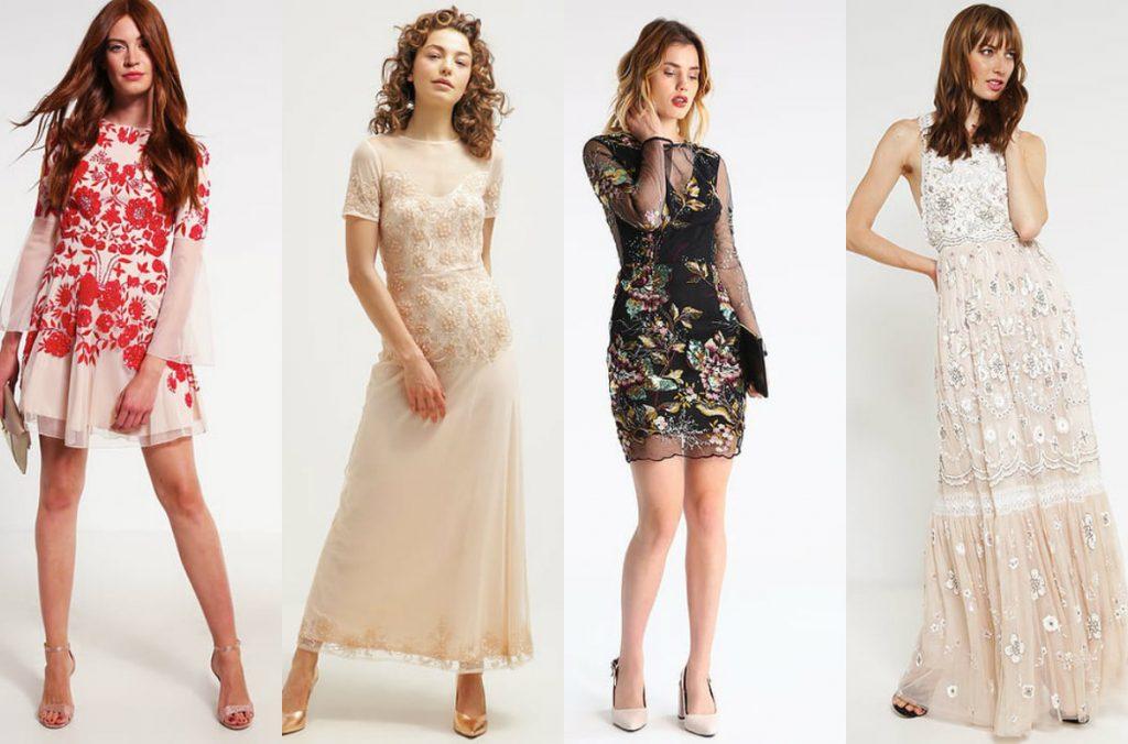 Sukienki w cekiny (materiały zalando.pl)