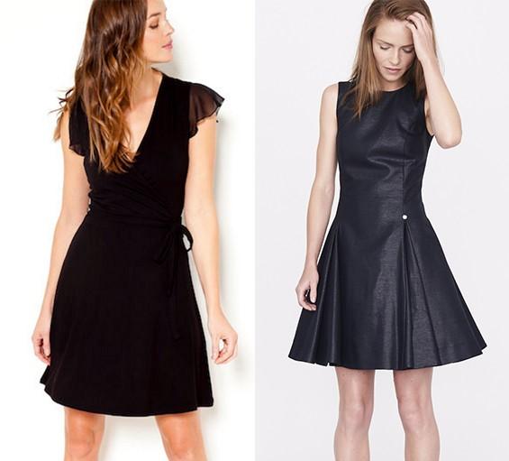 Modne sukienki z sieciówek [1: camaieu.pl | 2: simple-cp.com]