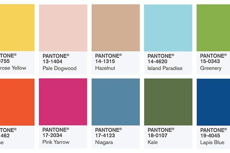 Modne kolory na lato 2017 [źródło: pantone.com]