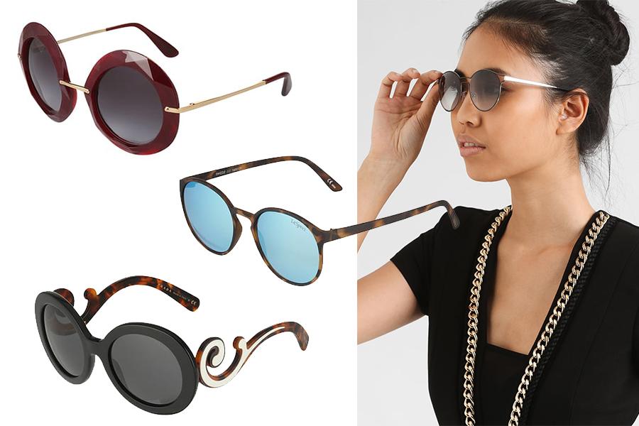 Okulary przeciwsłoneczne jak dobrać do kwadratowej twarzy? (kolaż redakcja, materiały partnera)