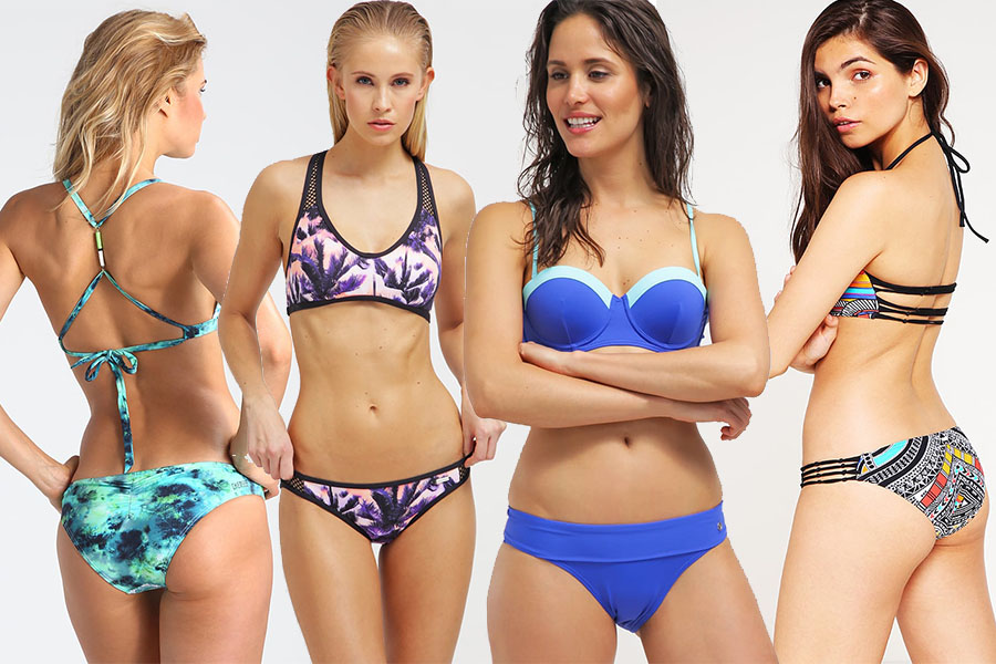 Modne bikini 2017 - różne marki (fot. zalando.pl)