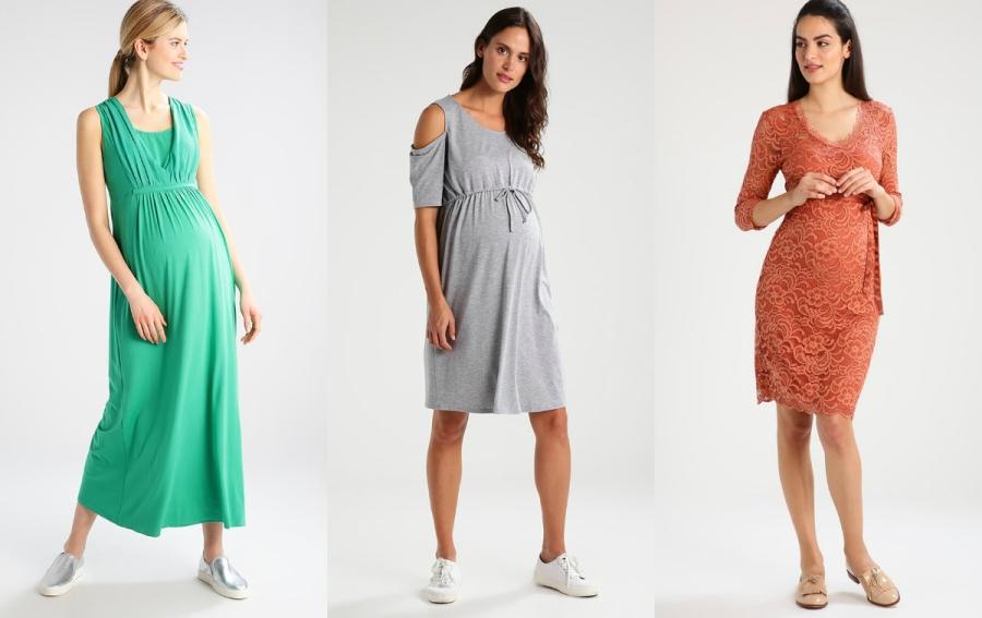 ciążowe sukienki na lato