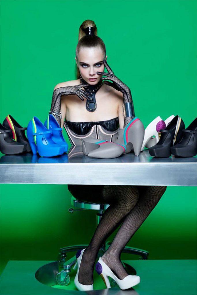 Melissa buty z kolekcji Melissa + Karl Lagerfeld (fot. melissa.com.br)