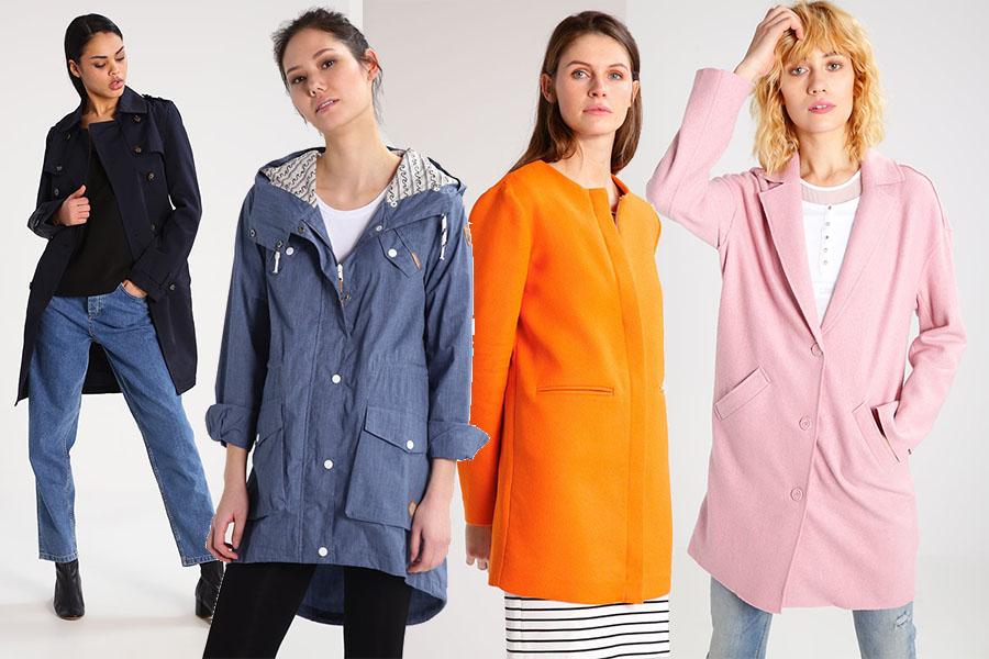 Płaszcze jesienne damskie (kolaż redakcja, materiały zalando)