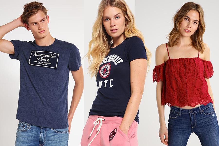 t-shirt abercrombie fitch (fot. zalando.pl)