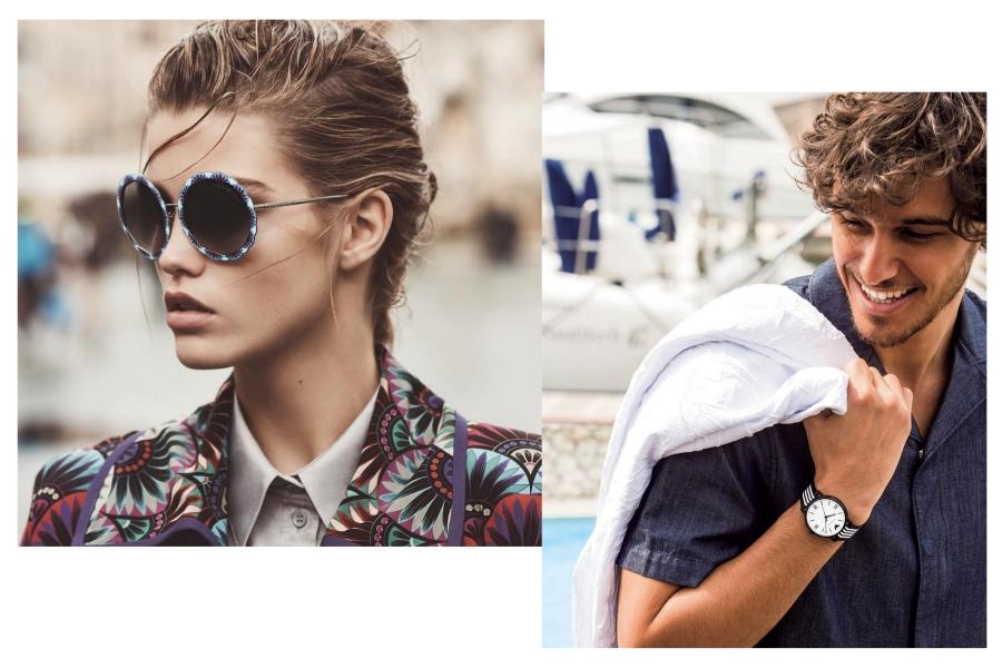 emporio armani okulary przeciwsłoneczne i zegarki