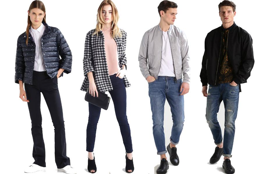 armani jeans kurtki i jeansy