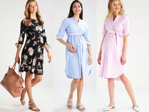 ciążowe sukienki koszulowe