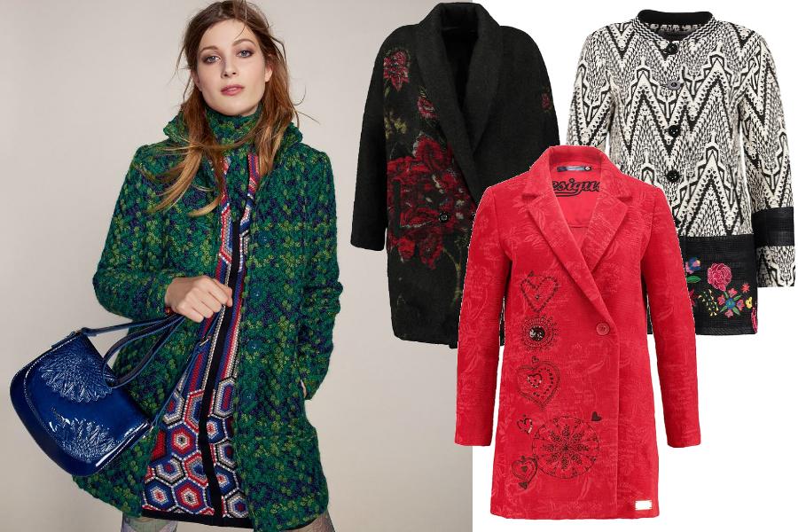 desigual płaszcz