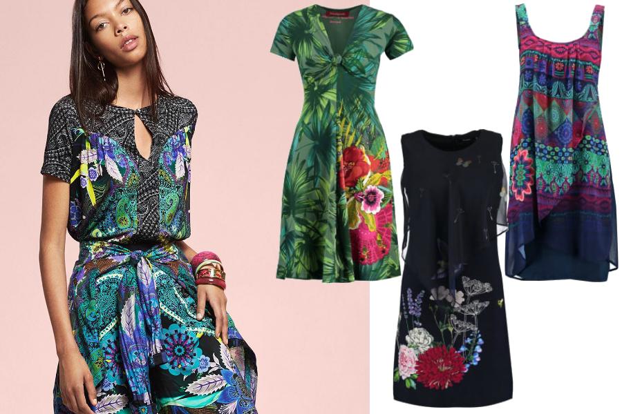 desigual sukienki