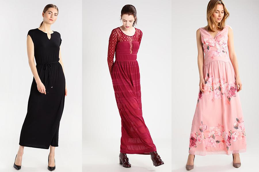 Długie sukienki - propozycje z Zalando (materiały partnera)