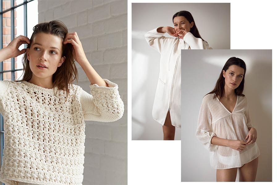 Stefanel sweter, sukienka, kurtka - Stefanek kolekcja 2017 (fot. stefanel.com)