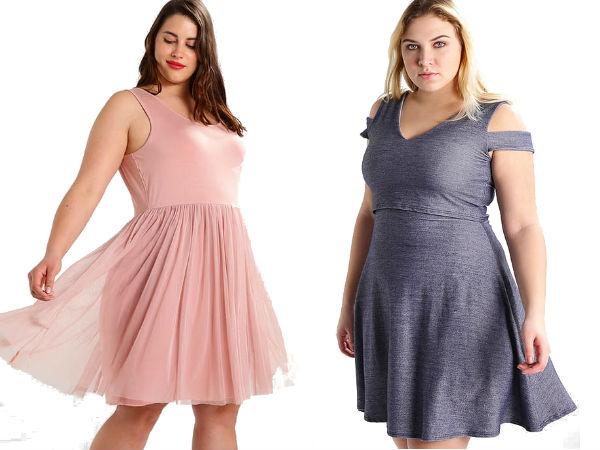 sukienki dżersejowe dla puszystych