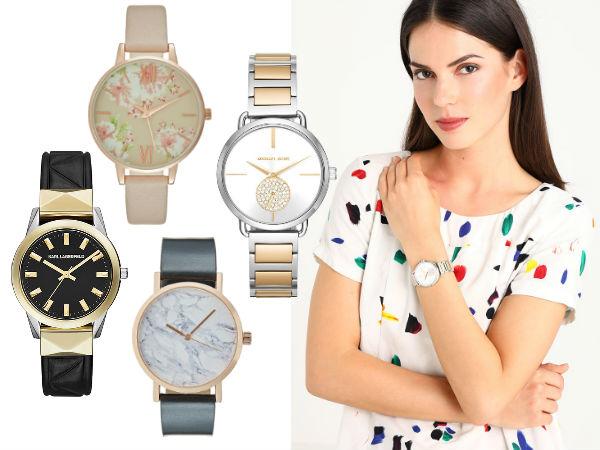 zegarki damskie analogowe