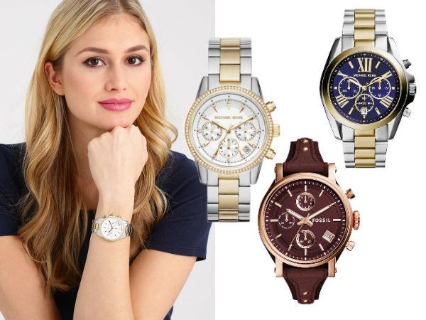 zegarki damskie chronograficzne
