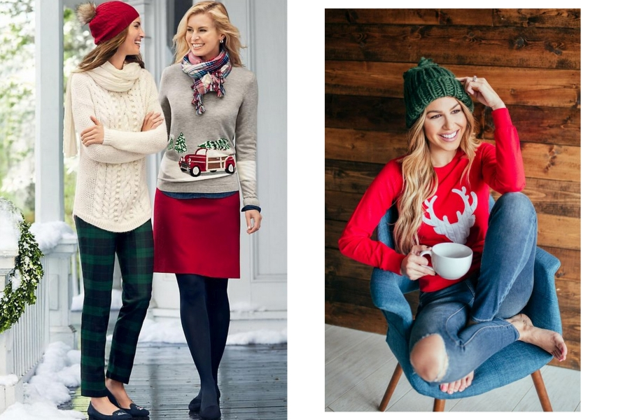 świąteczne swetry