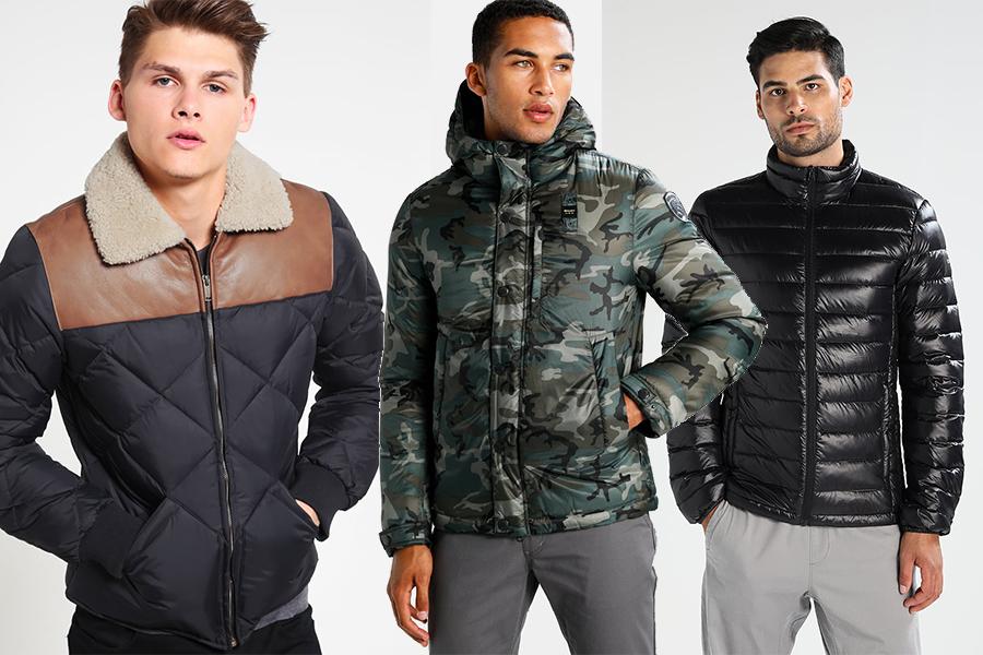 Kurtki puchowe męskie - różne modele z oferty Zalando (materiały partnera)