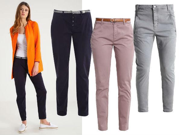 chinosy spodnie