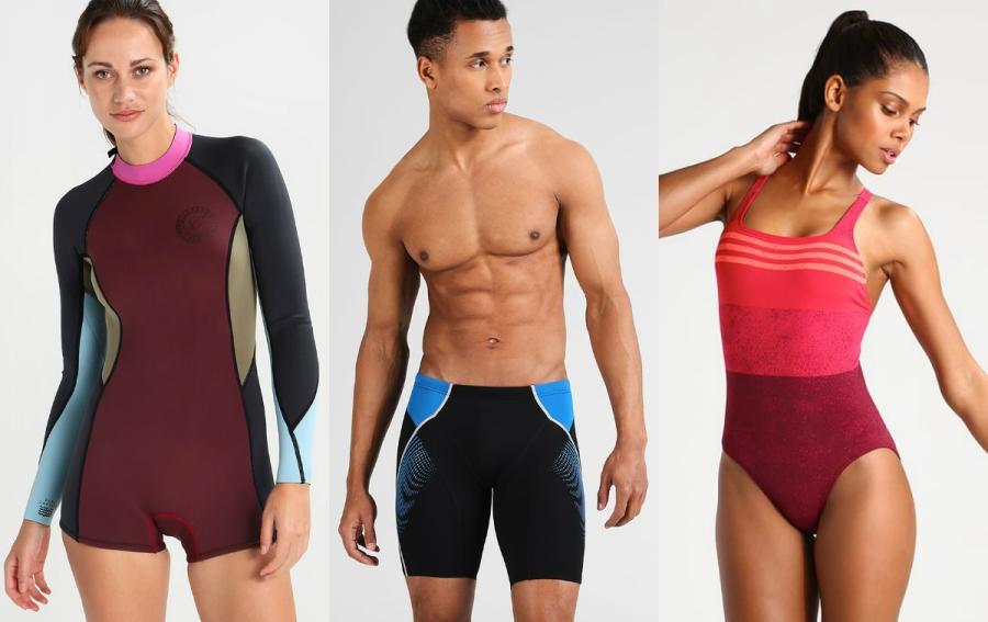 odzież sportowa kąpielowa