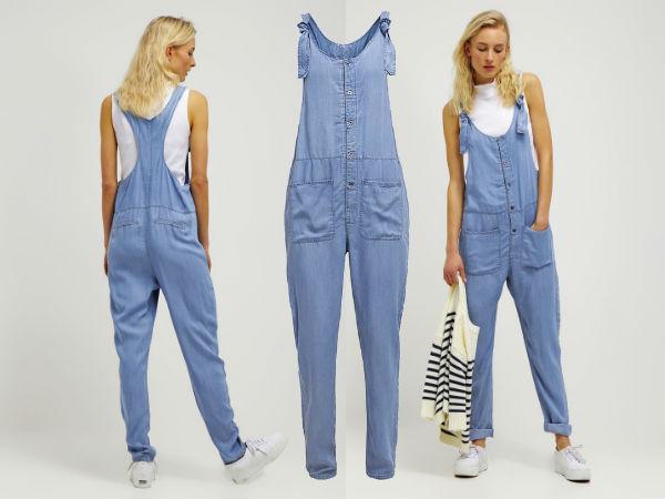 ogrodniczki damskie jeans