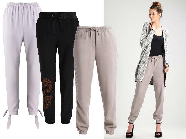 sportowe spodnie materiałowe