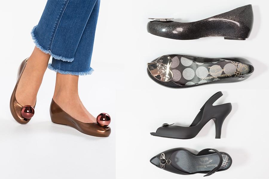 Vivienne Westwood x Melissa buty (materiały Zalando)