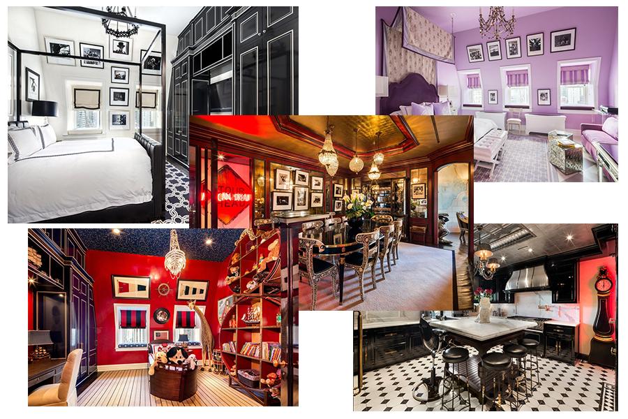 Nowojorski apartament Tommy'ego Hilfigera (kolaż redakcja, materiały businessinsider.com)