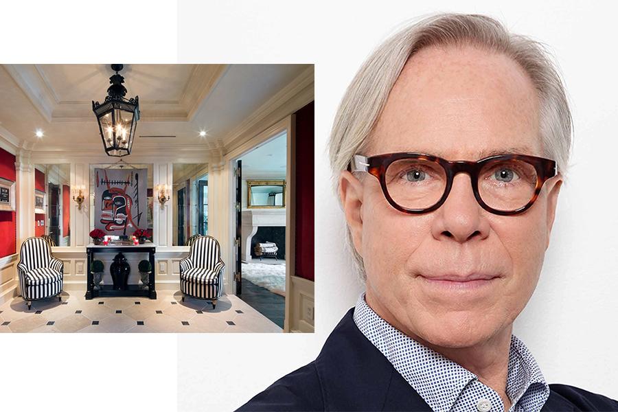 Nie ma chętnych na zakup luksusowego apartamentu Tommy'ego Hilfigera (kolaż redakcja, materiały businessinsider.com, independent.co.uk)