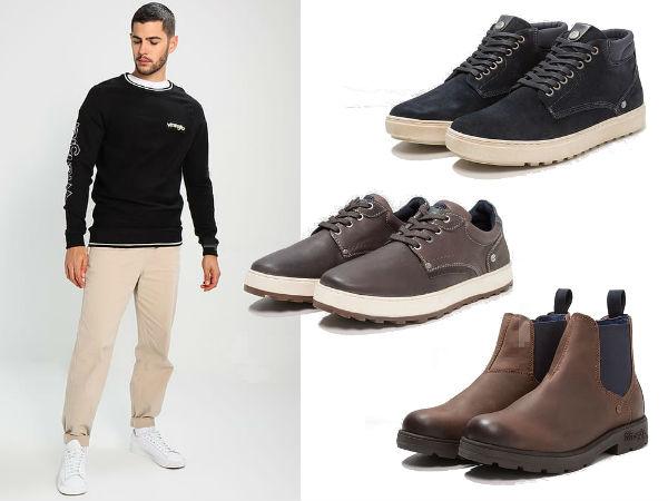 wrangler buty męskie