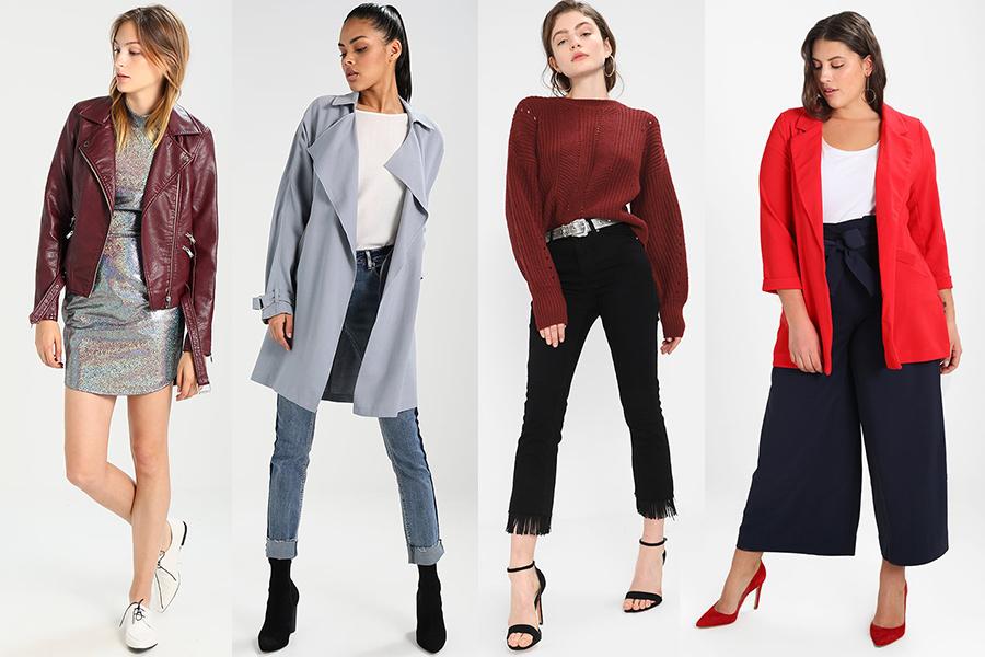 New Look - oferta dostępna m.in. na Zalando (kolaż redakcja, materiały Zalando)