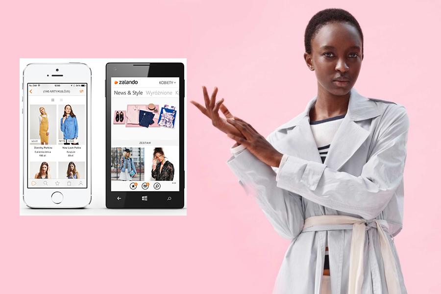 Zalando stawia na wersję mobile! Co się zmieni? *fot. zalando.pl)
