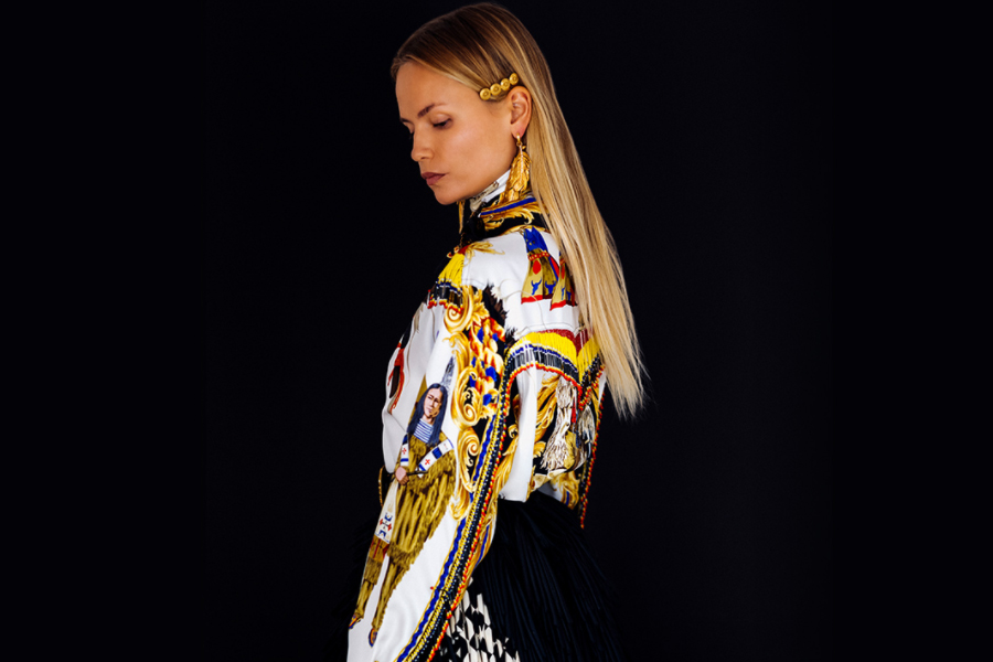 Donatella Versace rezygnuje z futra! (materiały Versace)